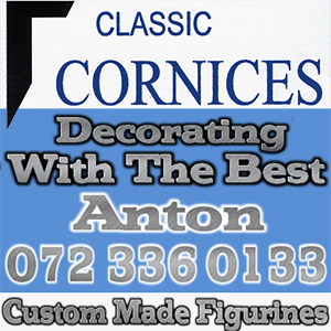 Cornices High density , PVC ceilings , Isoboard Ceilings and suspended ceilings