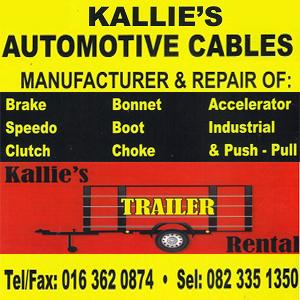 Kallie's Automotive Cables
